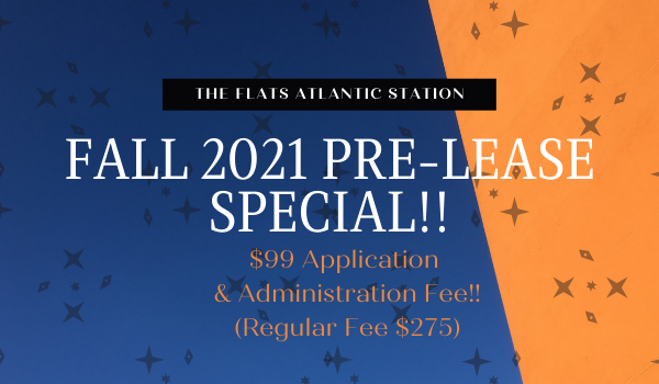 Fall 2021 Leasing Specials Available